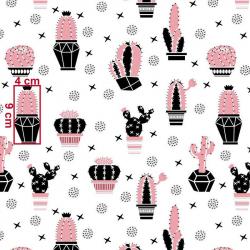 Kaktusy różowe wz663