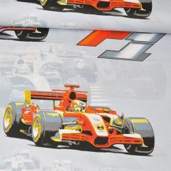 Nowa F1 Formuła na szarym...
