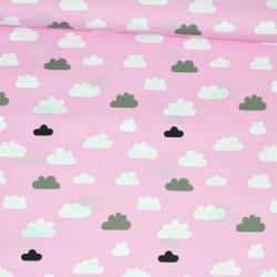 Chmurki na różowym tle wz229