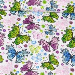 Motyle witraże wz509