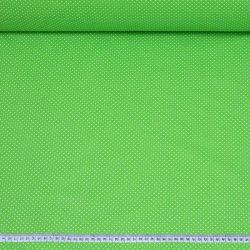 Białe groszki 2mm zielone...