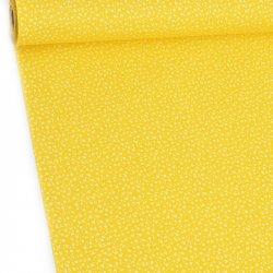 Mini łączka biala na żółtym...