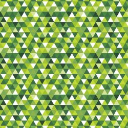 Trójkąty zielone 2cm wz1829