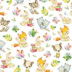Liski Sowy i zajaczki w...