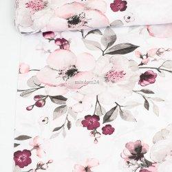 Storczyki kwiaty białe tło...